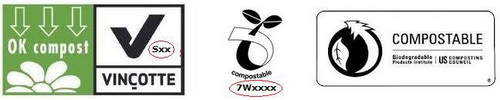 logo compostable