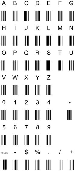 caratteri-code39